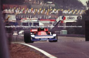 March 761 Bernard de Dryver. 1977 Belgian GP DNQ